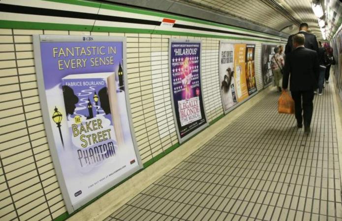 Affiche du « Baker Street Phantom »