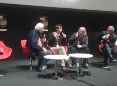 Rencontre du lundi après-midi en compagnie de Bertrand Tavernier et Michel Le Bris (Yann Nicol à la modération)