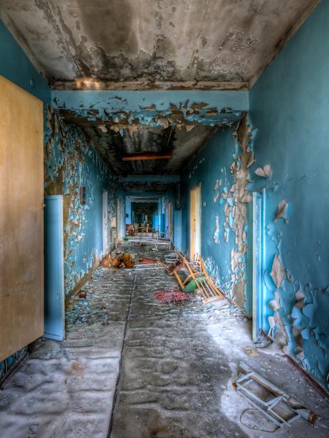 Hospital Corridor-4